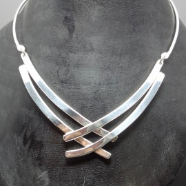 Necklace Silverplated
